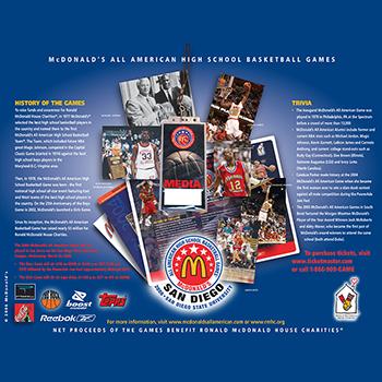 McDonald's All American High School Basketball Games Image 04
